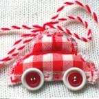 Мартенички от плат и копчета от krokotak.com