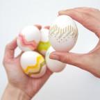 Великденски яйца с  тиксо от lovelyindeed.com